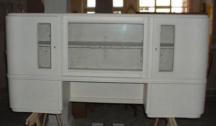 alter k chenschrank im neuen glanz recyclingkunst und der versuch langsam und nachhaltig zu leben. Black Bedroom Furniture Sets. Home Design Ideas
