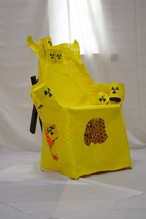 Atom-Stuhl Endlager
