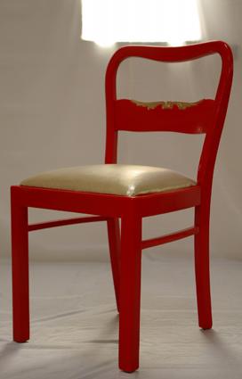 rote m belserie st hle recyclingkunst und der versuch. Black Bedroom Furniture Sets. Home Design Ideas