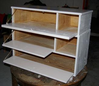 m bel f rs wendland schuhschrank mit tollem design recyclingkunst und der versuch langsam. Black Bedroom Furniture Sets. Home Design Ideas