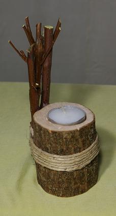 Teelichthalter mit Band