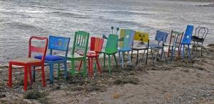 Stuhlreihe