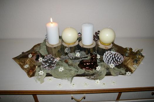 Adventsgesteck, Adventsschmuck,Weihnachten