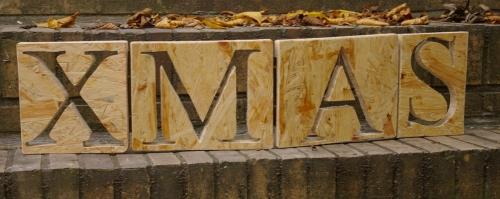 Buchstaben X MAS