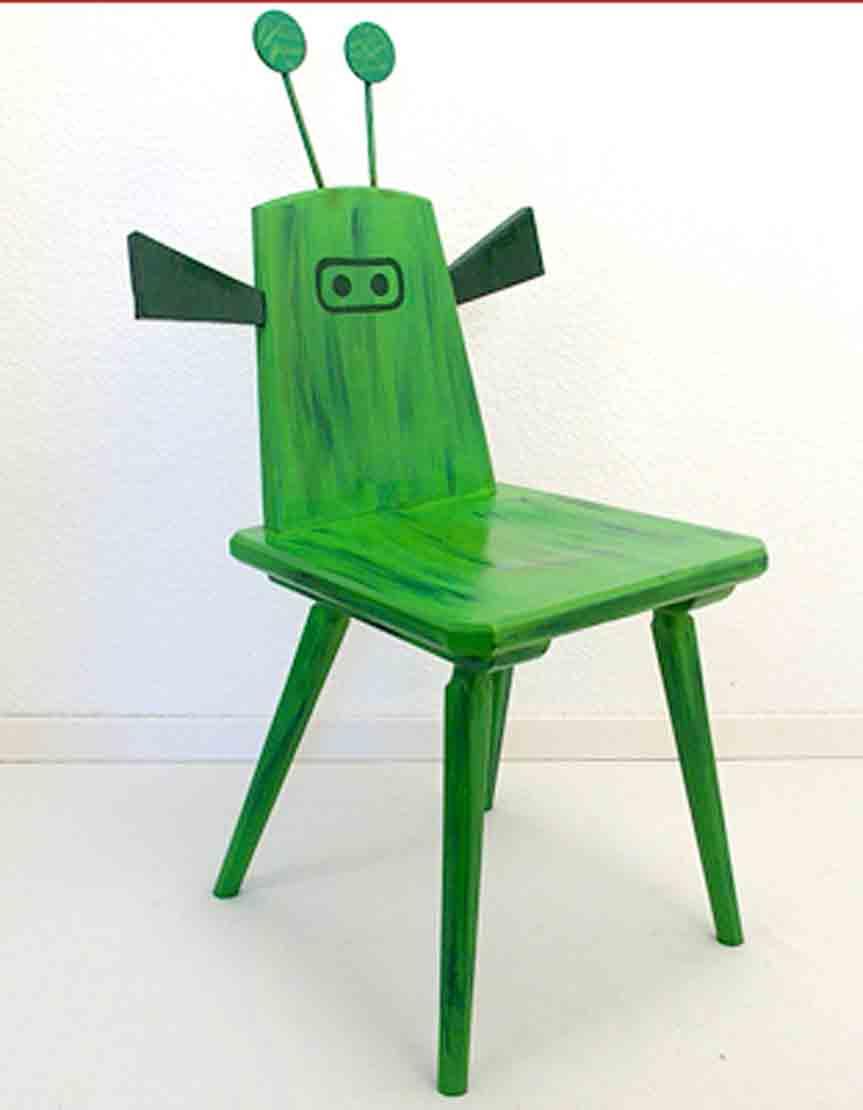 selbermachen stuhl neu anmalen recyclingkunst und der versuch langsam und nachhaltig zu leben. Black Bedroom Furniture Sets. Home Design Ideas