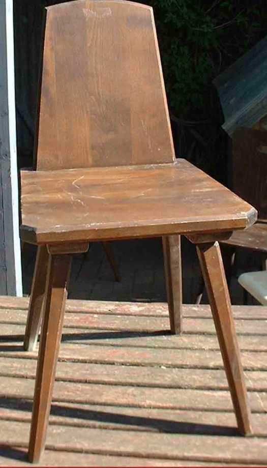 alter Stuhl für upcycling
