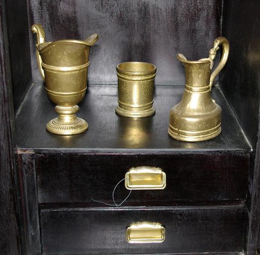 Accessoires aus Messing