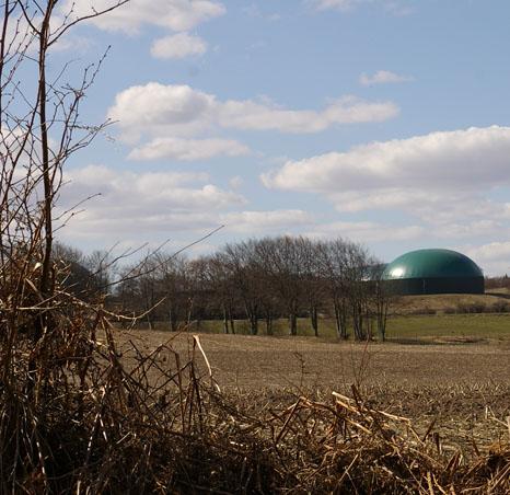 Biogasanlage in Dithmarschen