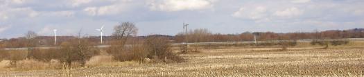 Windräder in Dithmarschen