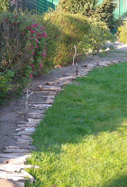 Gartendeko Treibholz und Strandgut