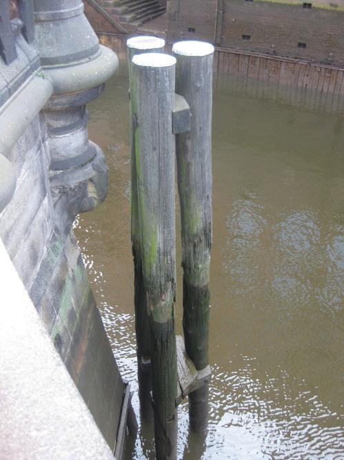 Hamburg niedriger Wasserstand