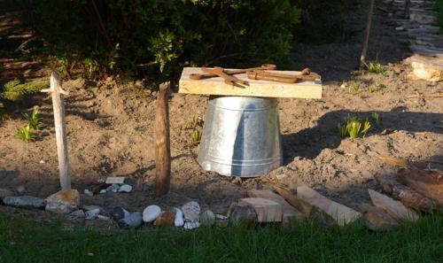 Gartendeko recyclingkunst und der versuch langsam und for Verrostete gartendeko