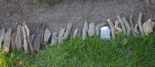 Gartendekoration Treibholz Strandgut