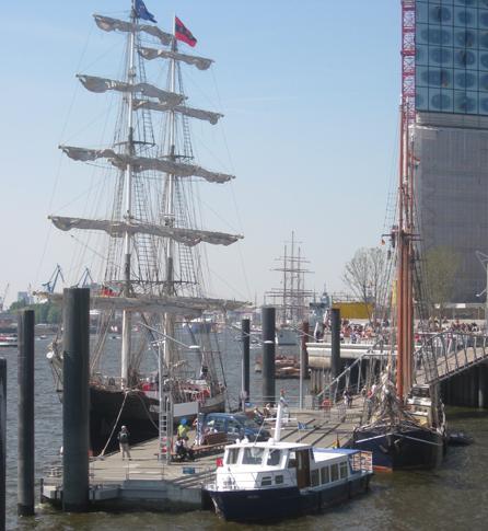 Hafengeburtstag Hamburg Schiffe