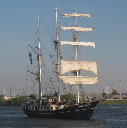 Hafengeburtstag in Hamburg Segelboot