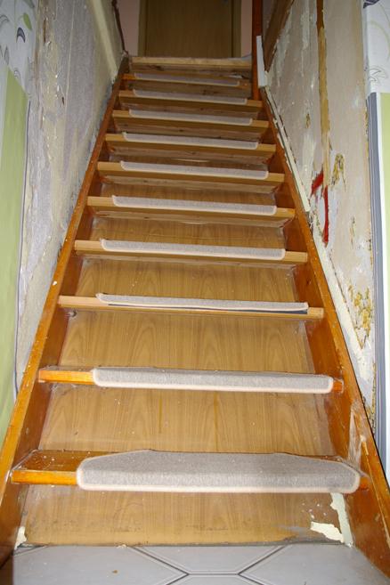 Treppe ganz original Treppe restaurieren