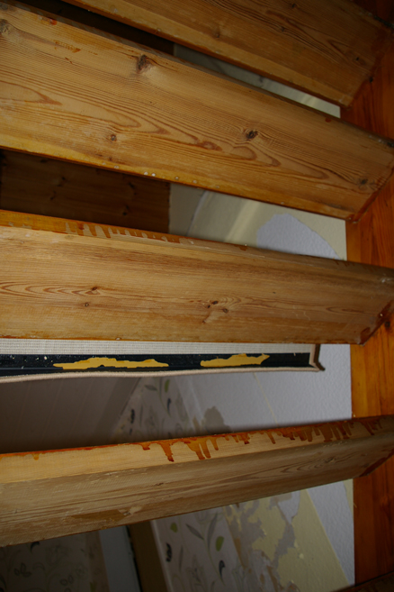 alte Treppe renovieren