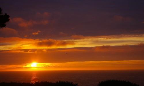 Sonnenuntergang Fecamp