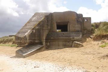 Bunkeranlage nördlich Omaha Beach