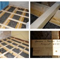 Wohnung dämmen und isolieren: Dämmung des Fussbodens mit Glasschaumschotter