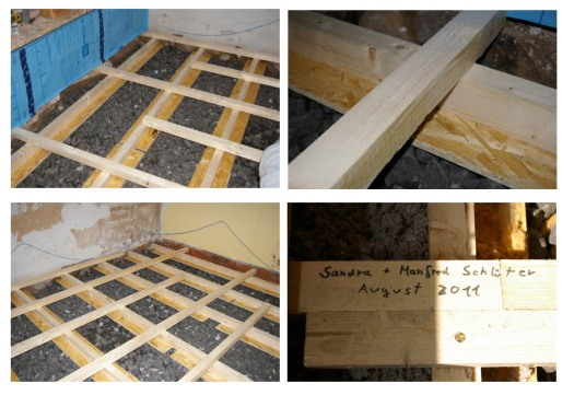 Fußboden Dämmen ~ Wohnung dämmen und isolieren: dämmung des fussbodens mit