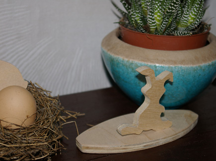 Ostern Osterhase Osterdekoration