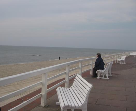 Wasser Baenke Sylt Westerland Promenade Strand Nordsee