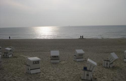 Wasser Strand Körbe Sylt Westerland Strandkoerbe