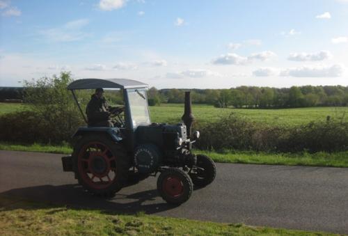 alter Trecker, Traktor, Oldtimer, Treckerralley,