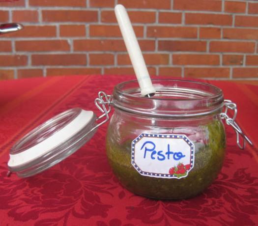 Pesto Wallnuß-Pesto Wallnusspesto Pesto