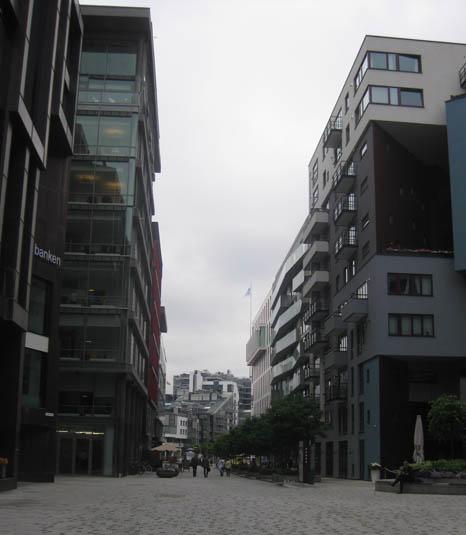 Oslo Hafen Norwegen moderne Architektur