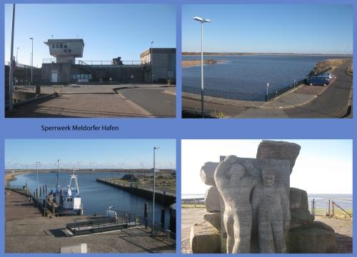 Sperrwerk Meldorfer Hafen