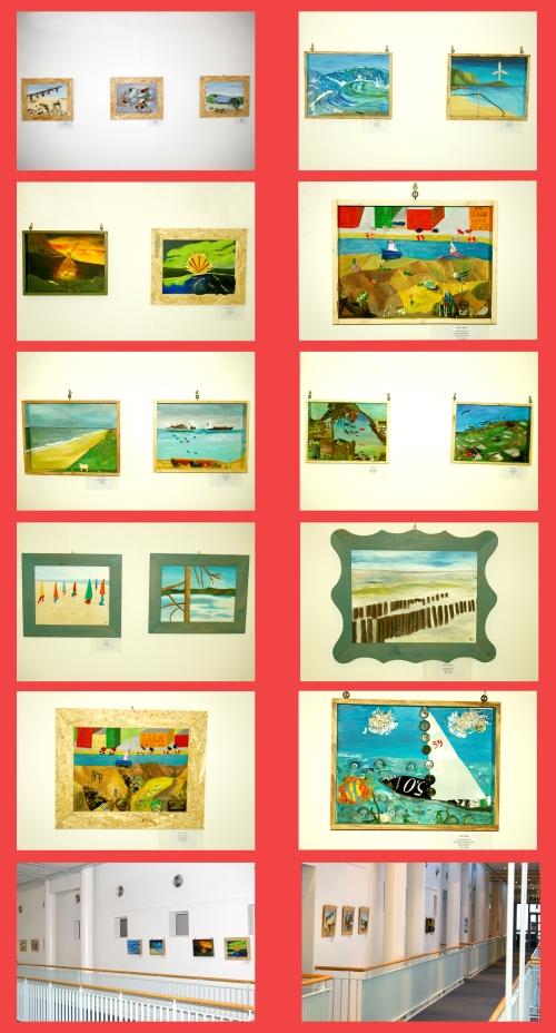 Ausstellung mit unseren Bildern im Vitamaris in Büsum