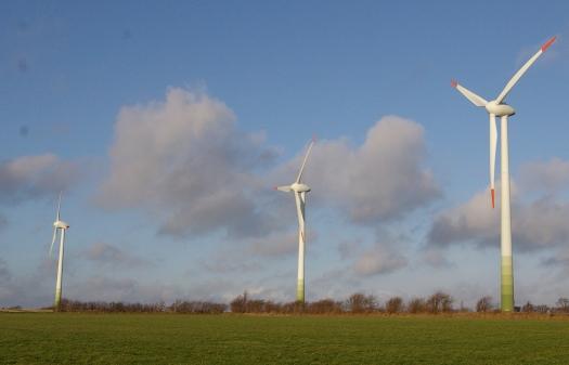 Windräder Nordsee Meer