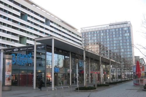 Dresden Einkaufsstrasse Platte