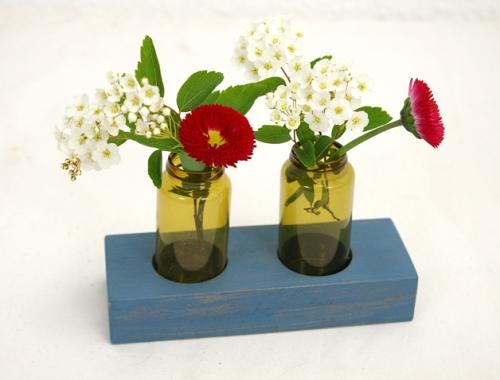 apotheker flaschnen blau vase blog ms