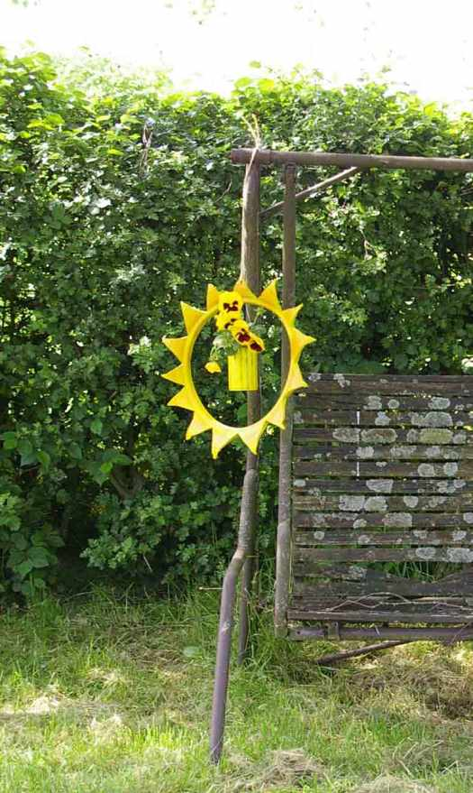 Gartendekoration-Sonnenampel l