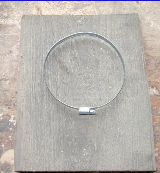 Holz und Schelle Wand vase Schlueter Dithmarschen2