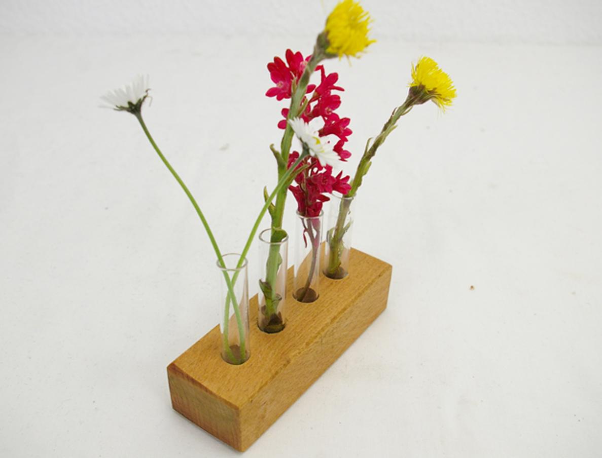 Mini Vase 4 Glas Schlueter Dithmarschen m1