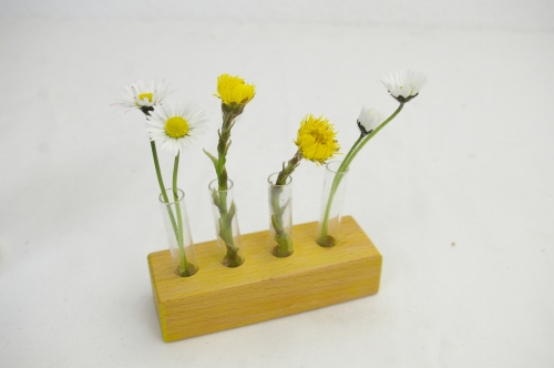 Mini Vase gelb Schlueter Design Dithmarschen Upcycling