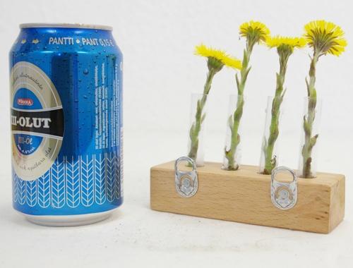 Miniatur Wandvase M.Schlueter Kunst Design