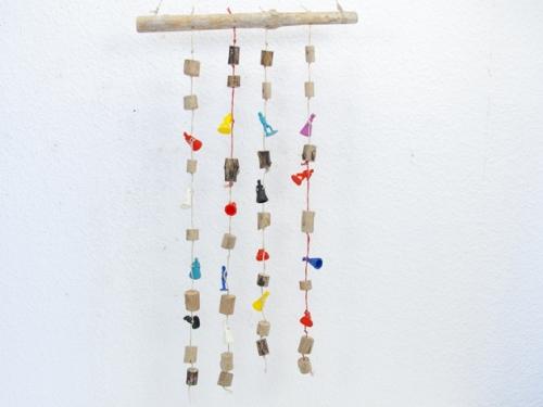Mobile Figuren Treibholz Schlüter Kunst und Design