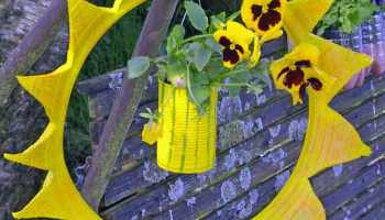 Diy Eine Sonne Für Den Garten Recycling Idee Aus Autoreifen