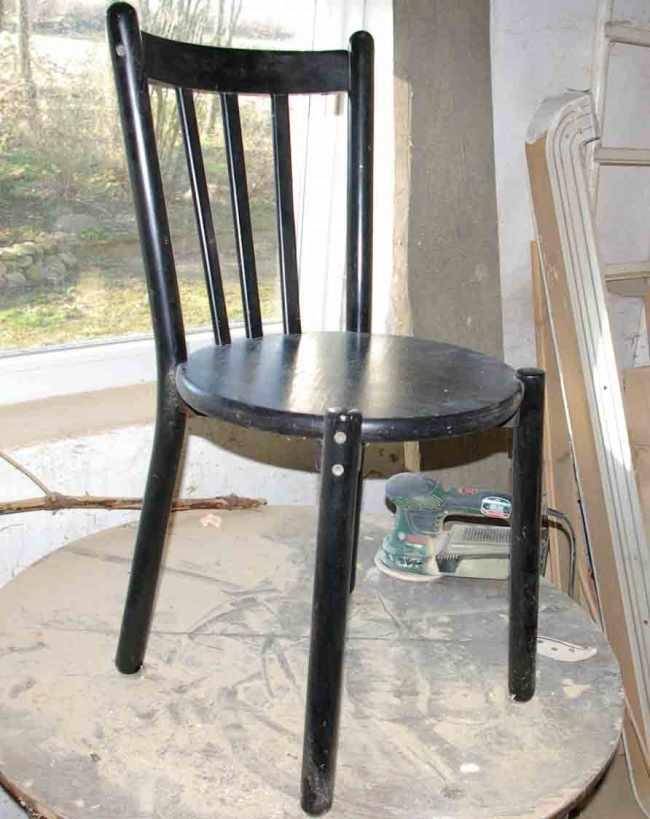 Anleitung: Ein Regal aus einem alten Stuhl, ein etwas anderes Recycling
