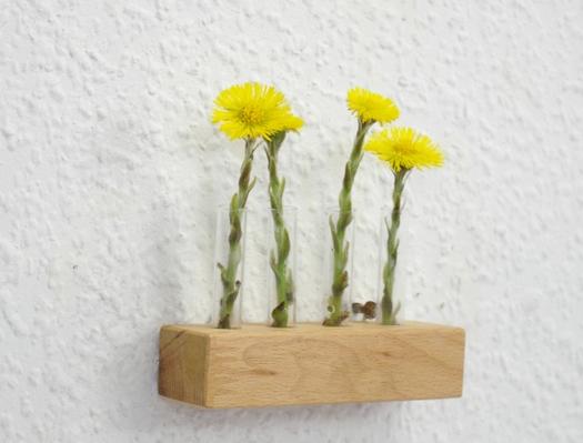Wandvase Mini für Blumen von SChlueter