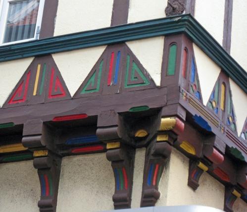 Fachwerkhaus Details Wolfenbüttel as