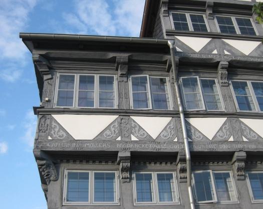 Fachwerkhaus grau Wolfenbüttel