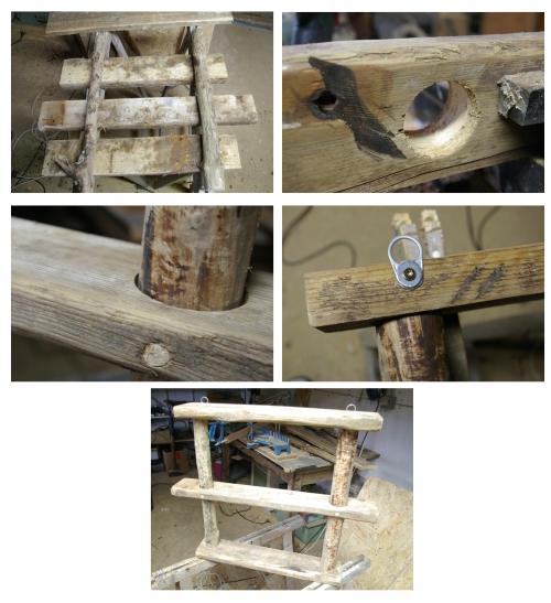 Regal aus bohlen und treibholz recyclingkunst und der for Regal treibholz