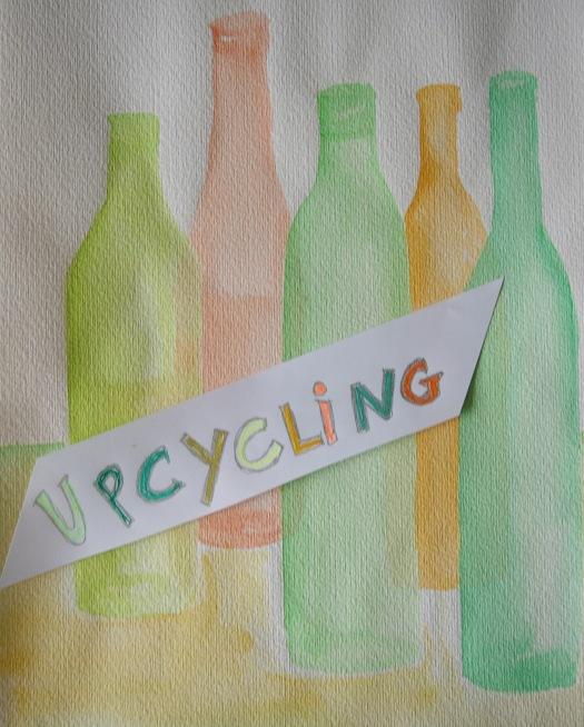Upcycling Idee für Flaschen
