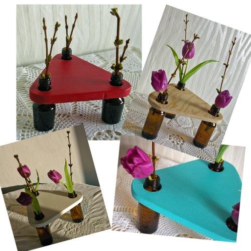 diy vasen aus alten flaschen recyclingkunst und der. Black Bedroom Furniture Sets. Home Design Ideas